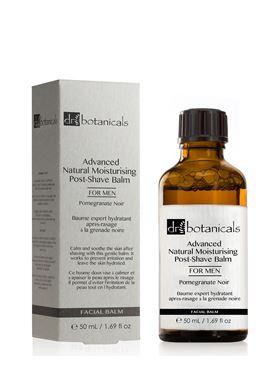 Moisturizing Post-Shave Balm Ανδρικό Ενυδατικό Βάλσαμο μετά το Ξύρισμα Dr Botanicals 50 ml
