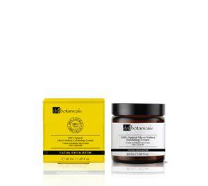 Gruum & Dr. Botanicals - 100% Natural Micro-Walnut Exfoliating Cream Κρέμα Απολέπισης Προσώπου Dr Botanicals 50 ml