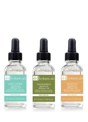 Σετ Αιθέριων Ελαίων για Diffuser Calming Scents Dr.Botanicals – 3 Τεμάχια