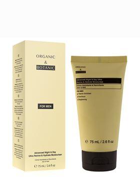 Ενυδατική Κρέμα 24ώρης Προστασίας Organic & Botanic Ultra Revive & Hydrate 75 ml