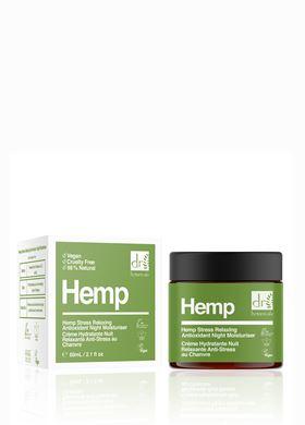Μάσκα Νυκτός Αντί-στρες Hemp Moisturiser Dr. Botanicals 50 ml