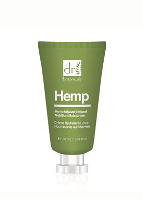 Ενυδατική Κρέμα Ημέρας για το Πρόσωπο Hemp Infused Dr. Botanicals 30 ml