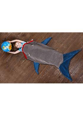 Παιδική Fleece Κουβέρτα Καρχαρίας 142 X 50 Cm SPM