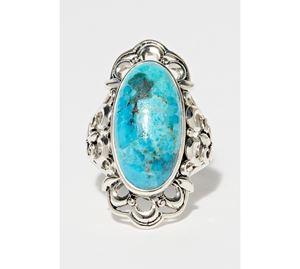 Jewels Bazaar - Γυναικείο Ασημένιο Δαχτυλίδι Amazonia