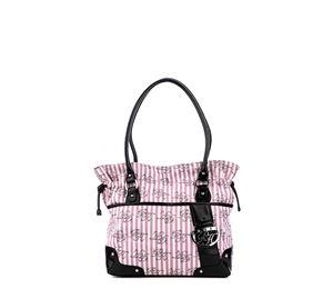 Stylish Points - Γυναικεία Υφασμάτινη Τσάντα PARIS HILTON