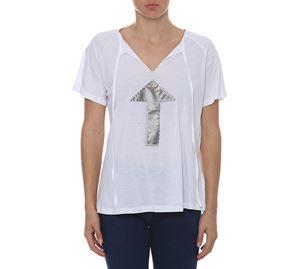 Woman Bazaar Vol.2 - Λευκή Κοντομάνικη Μπλούζα UP CLOTHING woman bazaar vol 2   γυναικείες μπλούζες