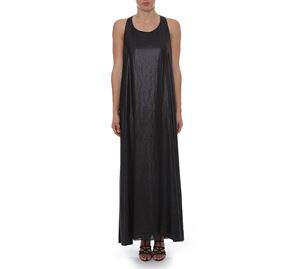 Woman Bazaar - Μαύρο Μακρύ Φόρεμα UP CLOTHING woman bazaar   γυναικεία φορέματα