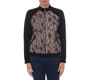Woman Bazaar Vol.2 - Μαύρο Σακάκι UP CLOTHING με Δαντέλα woman bazaar vol 2   γυναικεία σακάκια