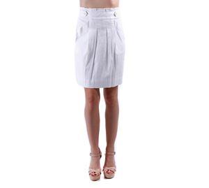 Clearance Alert - Φούστα Λευκή BCBG MAXAZRIA clearance alert   γυναικείες φούστες