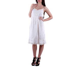 White Label - Γυναικείο Φόρεμα CREAM