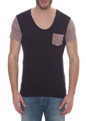 Ανδρικό T-Shirt RED SOUL με V λαιμόκοψη