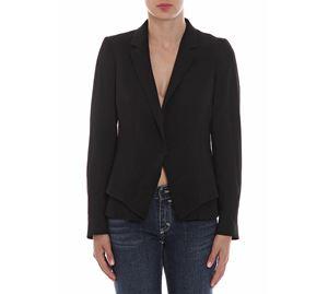 Woman Brands Boutique - Γυναικείο Μαύρο Σακάκι TRUSSARDI