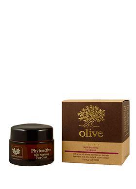 """Θρεπτική Κρέμα Νυκτός Fruits & Fleurs """"olive"""""""