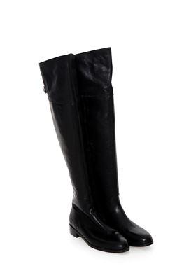 Δερμάτινες Μπότες Nak Χαμηλό Τακούνι