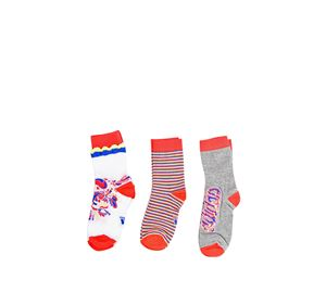 Adidas & Reebok Accessories - Σετ 3 ζευγ. Παδικές Κάλτσες ADIDAS adidas   reebok accessories   παιδικές κάλτσες καλσόν