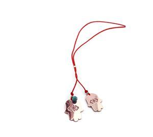 Detailed Look - Γυναικεία Ροζ Χρυσό Χέρι Της Φατιμά Agd'Sign