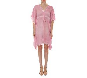 Woman Bazaar Vol.2 - Ροζ Καφτάνι I&D COLORS woman bazaar vol 2   γυναικεία πουκάμισα