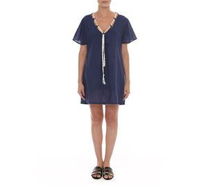 Woman Bazaar - Μπλε Καφτάνι UP CLOTHING woman bazaar   γυναικεία φορέματα
