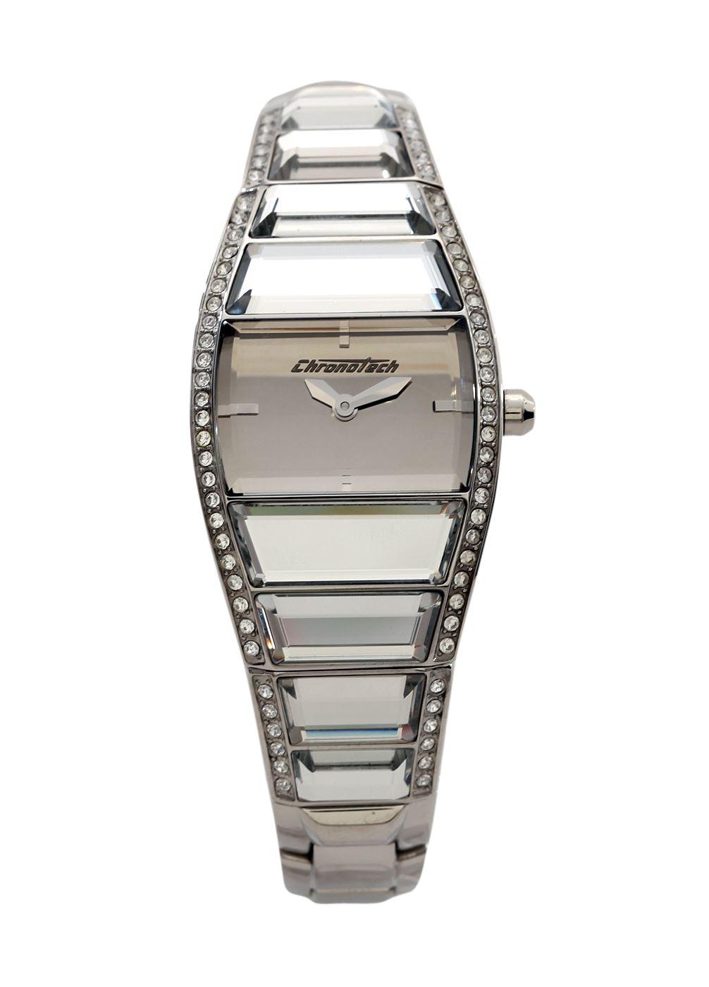 Watches & Jewels - Γυναικείο Ρολόι με Μπρασελέ CHRONOTECH