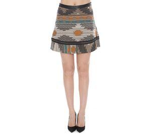 Lynne Vol.2 - Έθνικ Μίνι Ζακάρ Φούστα LYNNE lynne vol 2   γυναικείες φούστες