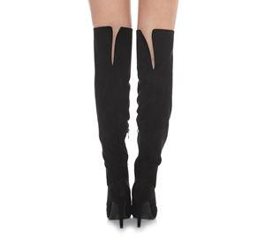 Outlet - Μαύρες Μπότες LYNNE