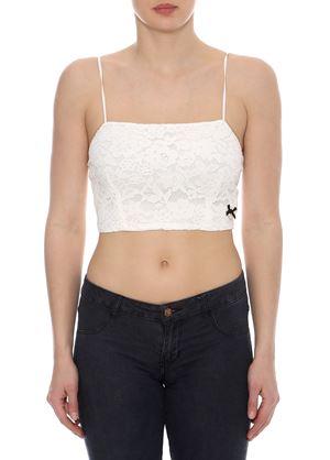 Outlet - Λευκή Μπλούζα Ραντάκι LYNNE