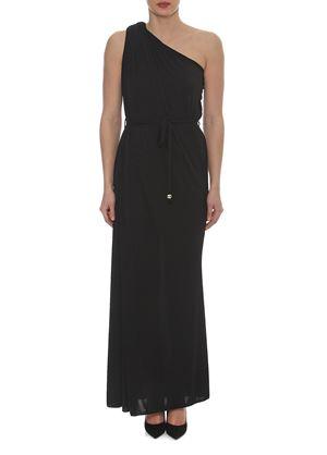 Outlet - Μακρύ Μαύρο Φόρεμα LYNNE