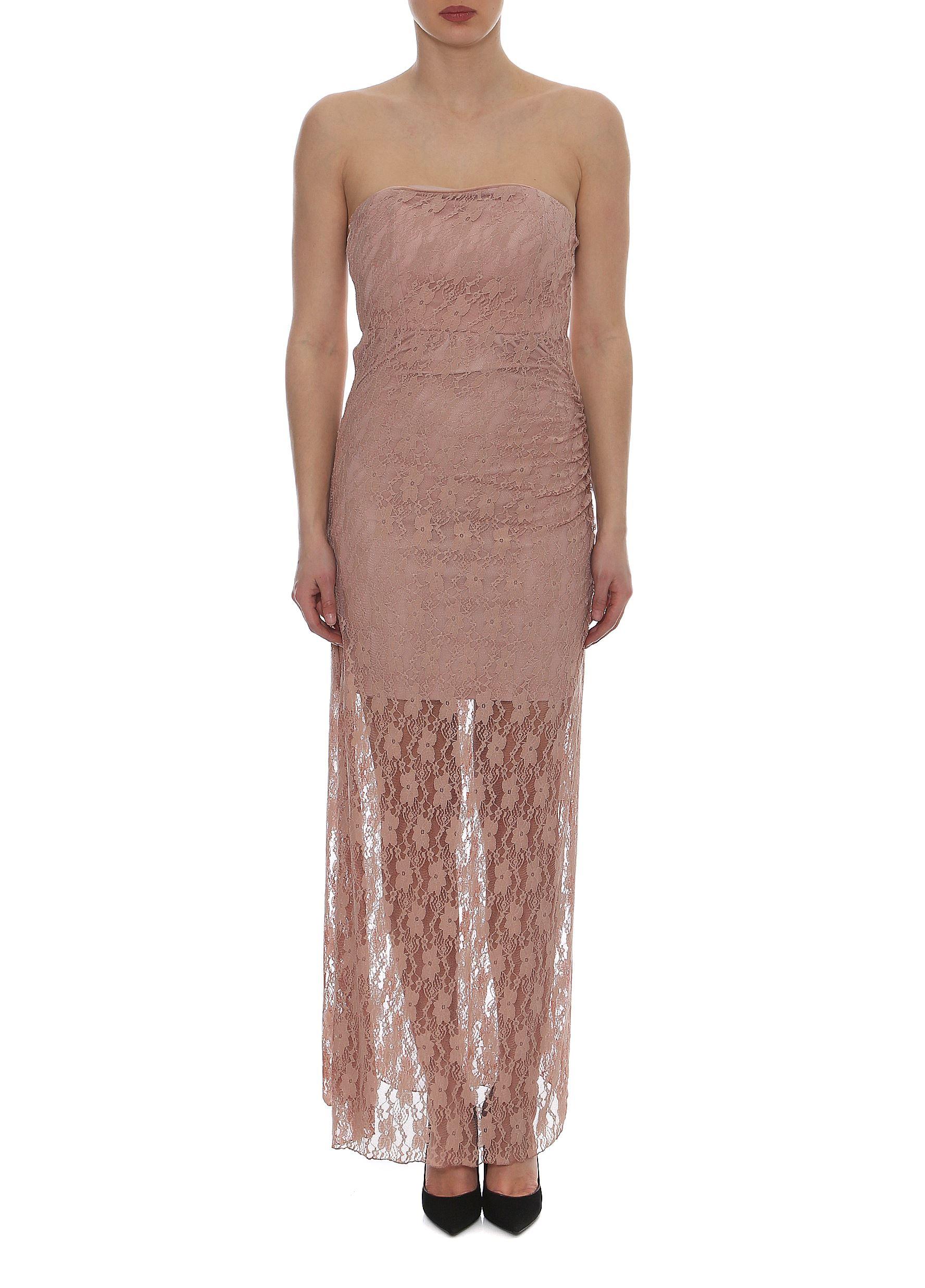 Lynne Vol.3 - Σομόν Στράπλες Φόρεμα LYNNE