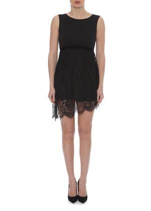 Outlet - Μαύρο Μίνι Αμάνικο Φόρεμα LYNNE
