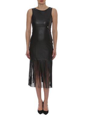 Μαύρο Μίνι Στενό Φόρεμα LYNNE