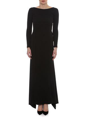 Outlet - Μαύρο Μακρυμάνικο Φόρεμα LYNNE